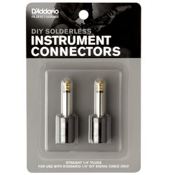 Planet Waves Pedalboard Cable Kit Connector - Straight, 2 Pack