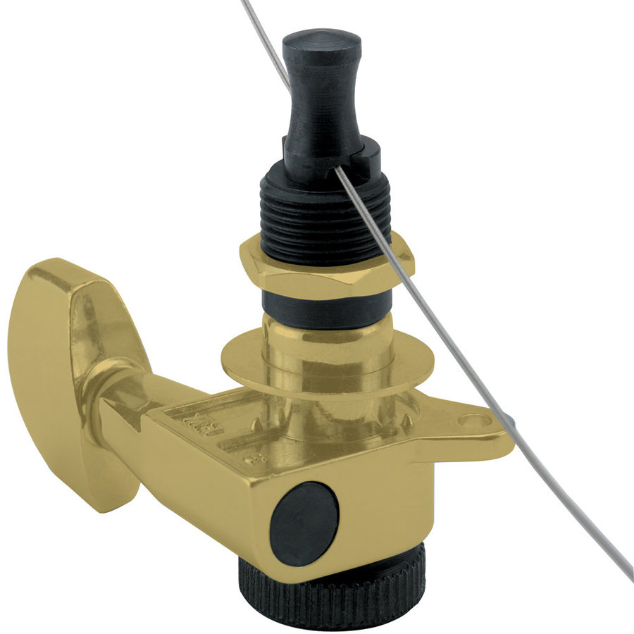 View larger image of Planet Waves PWAT-6R3 Auto-trim Tuning Machine - 6 In-Line - Gold