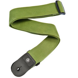 Planet Waves PWS107 Polypropylene Guitar Strap - Green
