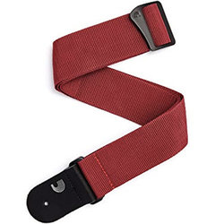 Planet Waves Red Flannel Guitar Strap - 50mm