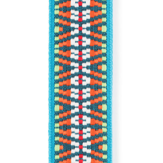 View larger image of Planet Waves Sunset Hootenanny Woven Guitar Strap - 50mm