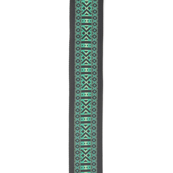 View larger image of Planet Waves T20W1422 Monterey 3 Guitar Strap - Green