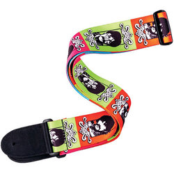 Planet Waves The Beatles Guitar Strap - Sgt Pepper