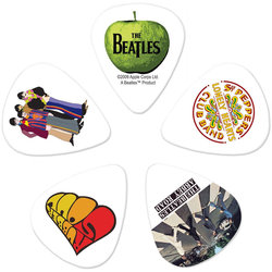 Planet Waves The Beatles Signature Guitar Picks - Heavy, 10 Pack