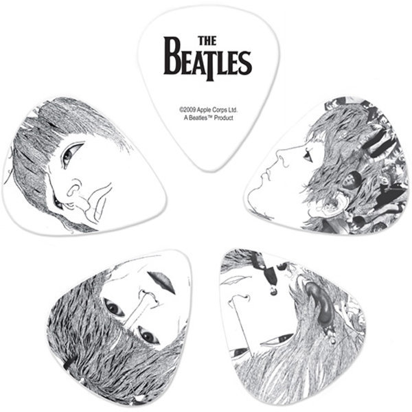 View larger image of Planet Waves The Beatles Signature Guitar Picks - Heavy, Revolver, 10 Pack