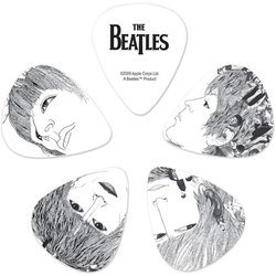 Planet Waves The Beatles Signature Guitar Picks - Heavy, Revolver, 10 Pack
