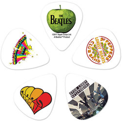 Planet Waves The Beatles Signature Picks - Albums, Thin, 10 Pack