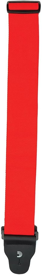 "View larger image of D'Addario Woven Guitar Strap - 3"", Red"
