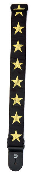 View larger image of Planet Waves Woven Guitar Strap - Gold Star