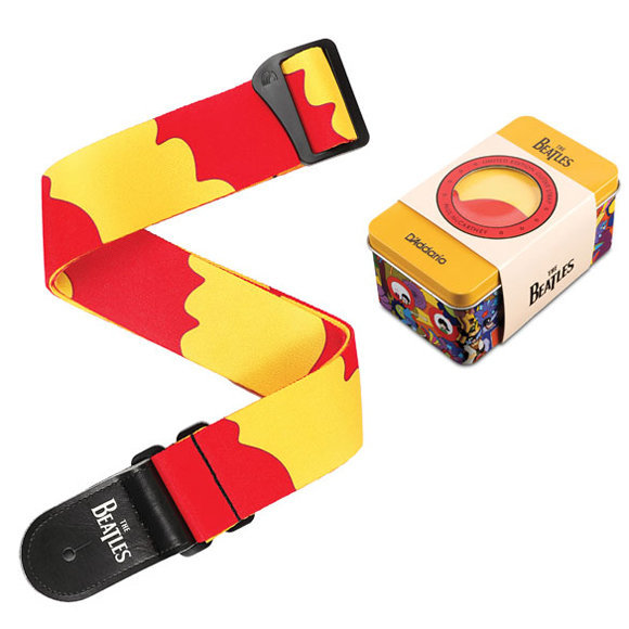 View larger image of Planet Waves Yellow Submarine 50th Anniversary Guitar Strap with Tin - Paul