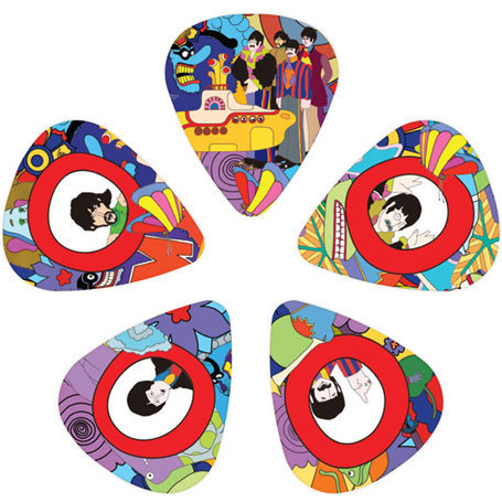 View larger image of Planet Waves Yellow Submarine 50th Anniversary Picks - Heavy, 10 Pack