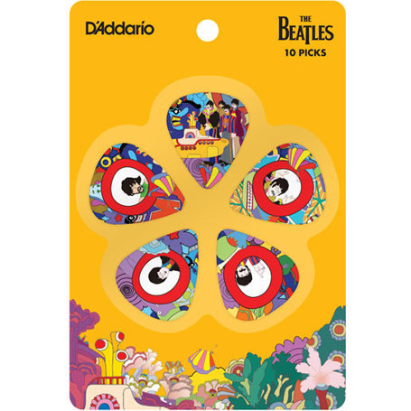 View larger image of Planet Waves Yellow Submarine 50th Anniversary Picks - Thin, 10 Pack