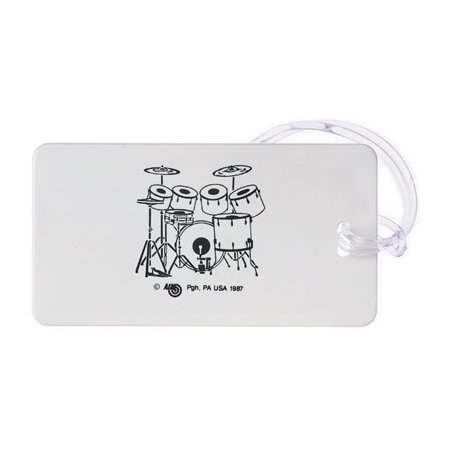 View larger image of Plastic ID Tag - 7-piece Drum Set