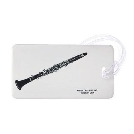 View larger image of Plastic ID Tag - Clarinet