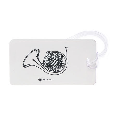 View larger image of Plastic ID Tag - French Horn