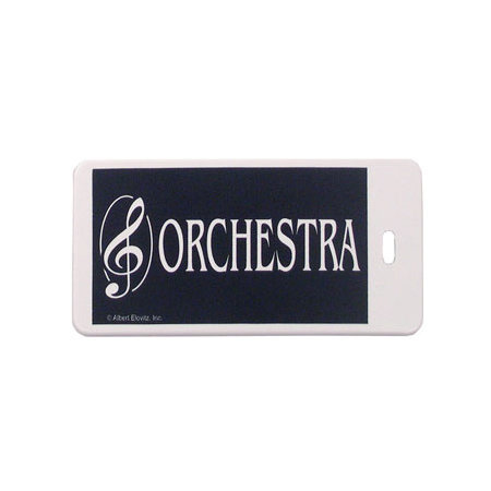 View larger image of Plastic ID Tag - Orchestra