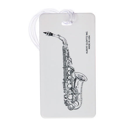 View larger image of Plastic ID Tag - Tenor Saxophone