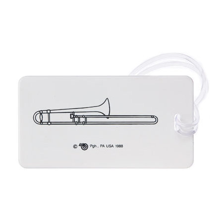 View larger image of Plastic ID Tag - Trombone