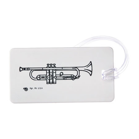 View larger image of Plastic ID Tag - Trumpet