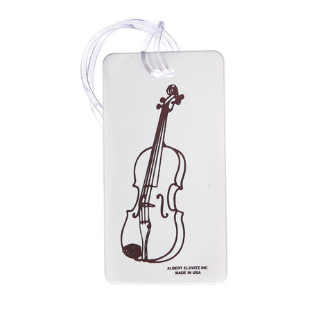 View larger image of Plastic ID Tag - Violin