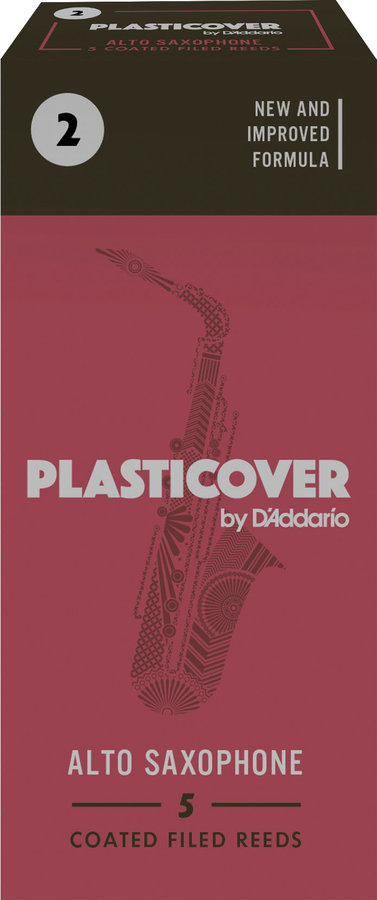 View larger image of Plasticover Alto Saxophone Reeds - #2, 5 Box