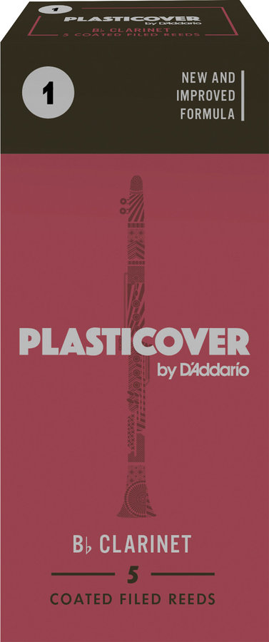 View larger image of Plasticover Bb Clarinet Reeds - #1, 5 Box