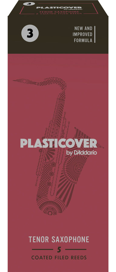 View larger image of Plasticover Tenor Saxophone Reeds - #3, 5 Box