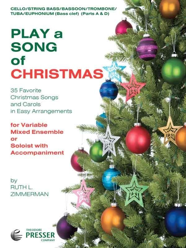 View larger image of Play a Song of Christmas - Cello/String Bass/Trombone/Bassoon/Euphonium/Tuba