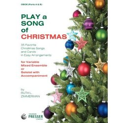 Play a Song of Christmas - Oboe
