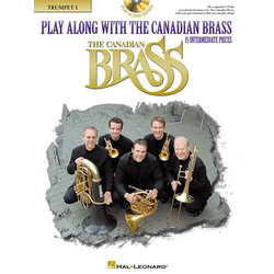 Play Along With The Canadian Brass (15 Intermediate Pieces) - Tpt 1 w/CD
