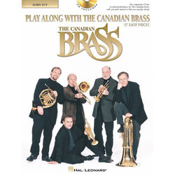 Play Along With The Canadian Brass (17 Easy Pieces) - F Horn w/CD