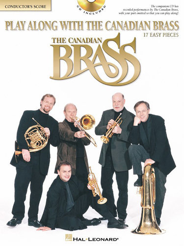 View larger image of Play Along With The Canadian Brass (17 Easy Pieces) - Score w/CD