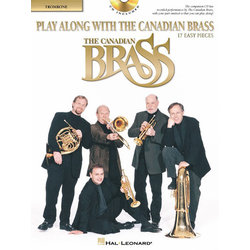 Play Along With the Canadian Brass (17 Easy Pieces) - Trombone w/CD