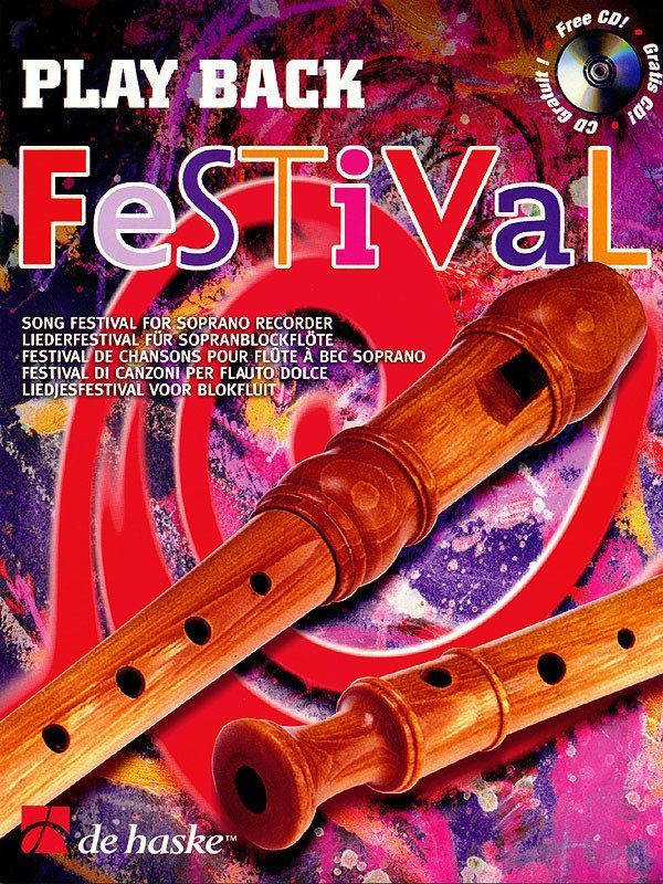 View larger image of Play Back Festival - Soprano Recorder (Book & CD)