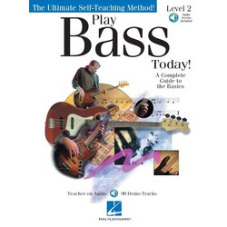 Play Bass Today! – Level 2 w/Online Audio