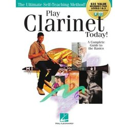 Play Clarinet Today! Beginner's Pack Book 1&2 Plus Online Audio & Video