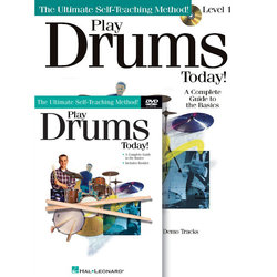 Play Drums Today! - Beginner's Book/CD/DVD Pack
