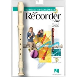 Play Recorder Today - Book/CD with Recorder