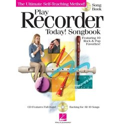 Play Recorder Today - Songbook w/CD