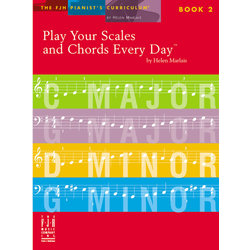 Play Your Scales and Chords Every Day, Book 2