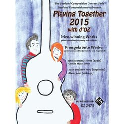 Playing Together 2015 with d'OZ (Torres J.M/Periz) - Guitar Trio