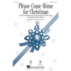 Please Come Home for Christmas, SATB Parts