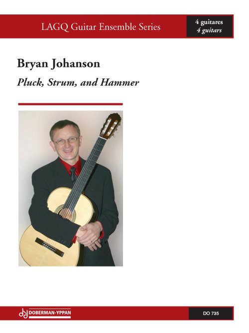 View larger image of Pluck, Strum, And Hammer (Johanson) - Guitar Quartet