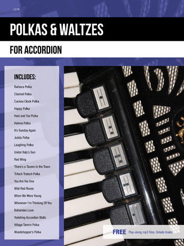 View larger image of Polkas & Waltzes for Accordion w/CD