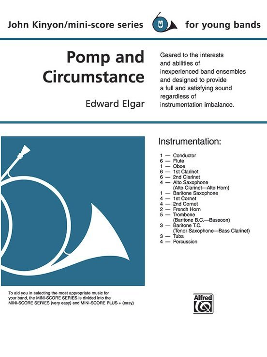 View larger image of Pomp and Circumstance - Score & Parts, Grade 1