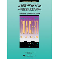 Pop and Rock Legends: A Tribute to Elvis - Score & Parts, Grade 4
