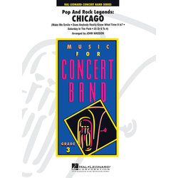 Pop and Rock Legends: Chicago - Score & Parts, Grade 3