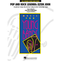 Pop and Rock Legends: Elton John - Score & Parts, Grade 3