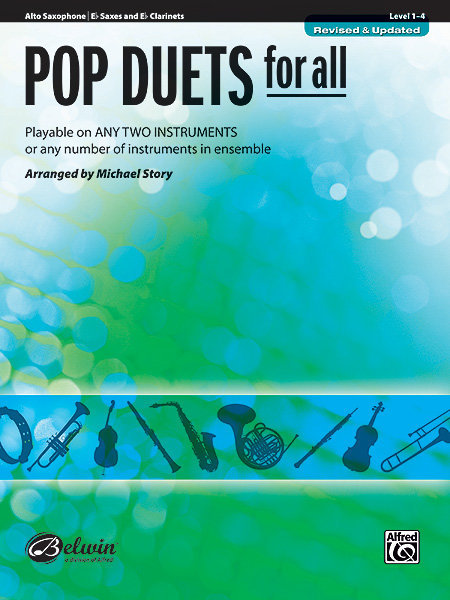 View larger image of Pop Duets for All - Alto Sax