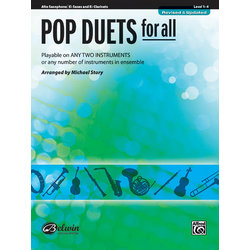 Pop Duets for All - Alto Sax